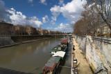 view from ponte regina margherita