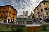 Piazza di Spagna - The Fountain