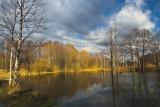 small lake near my country