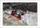 5 stage of Granite Canyon (5 class rapid). Pasha, Sasha, Lev & Andrei