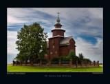 St. John the Divine wooden church on Ishna river. Est. 1687