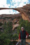 Dale at Landscape Arch