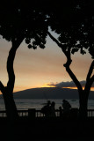 Sunset on Front Street in Lahaina