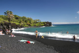 Waianapanapa State Park (yes that is black sand)