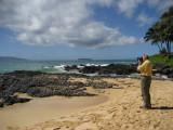 Dale at Secret Beach