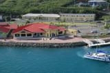New shops at Crown Bay - St. Thomsas
