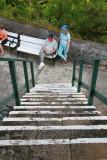 Ang & Wade at Gun Hill Signal Station on Barbados