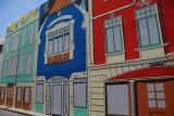 Street artwork on Barbados