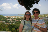 Ang & Shirley on St. Lucia