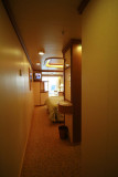 Entry way into D218 (Dolphin Deck mini-suite)
