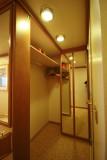 Closet of  D218 (Dolphin Deck mini-suite)