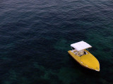 The Mochima Lodge boat / El bote de Mochima Lodge