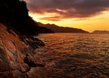 Dusk in the shore / Atardecer en la orilla