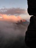 Lasts sunlights in Roraima Tepuy / Ultimos rayos de sol en Roraima Tepuy