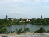 View of Copenhagen from Hotel Room