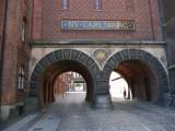 Entering Carlsberg Brewery