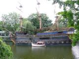 Floating Restaurant in Tivoli Gardens