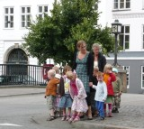 Danish Children in Christianshavn Area