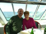 At Dinner Onboard Ferry