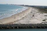 Canaveral Beach from balcony