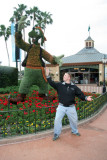 Kyle find inspiration at Epcot