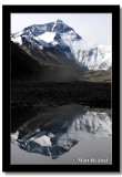 Everest Reflection, Rongbuk Everest Base Camp, Tibet