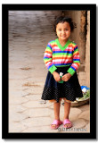 Little Uyghur Girl in the Old Alleyways, Kashgar, East Turkistan (Xinjiang)