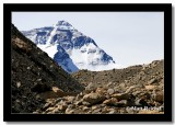 One Lone Hiker, Everest Base Camp, Tibet