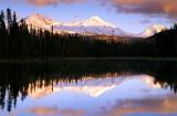 Sunset from Scott Lake, Study #1