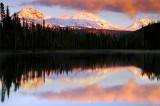 Sunset from Scott Lake, Study #2