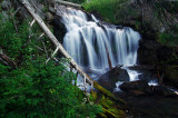 Canyon Creek Falls, lower tier