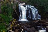 Canyon Creek Falls, upper tier