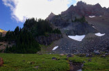 Three-Fingered Jack from above Canyon Creek Meadows