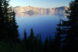 Crater Lake from Sun Notch #1