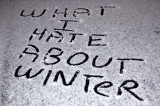 What I Hate About Winter