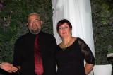 Jacky & Sara Costi under the Huppa
