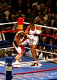 LAILA  ALI  defends her WBO title  against Shelley Burton  at Madison Square Garden