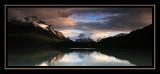 Sunrise at Lago Dickson