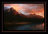 Cuernos and Paine Grande at Sunrise