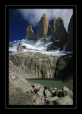 Classic View of Torres del Paine