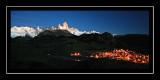 Fitzroy and the Lights of El Chalten