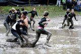 Annual Mud Bowl at the University of Michigan