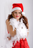 Lindsay as Santa's Helper