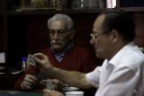 May 9, 2007 - Italian men playing cards