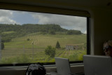 Italian countryside from train