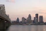 Louisville at dusk
