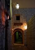 Night Street In Rab