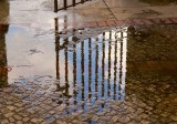 Gate Into Puddle