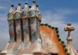 Casa Battlló -  Roof Sculptures