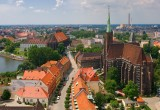 Wroclaw Old Town Scape